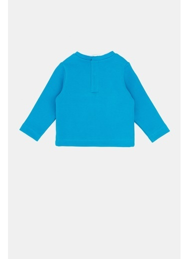 BG Baby Erkek Bebek Turkuaz T-Shirt 20Fw1Bg1529 Turkuaz